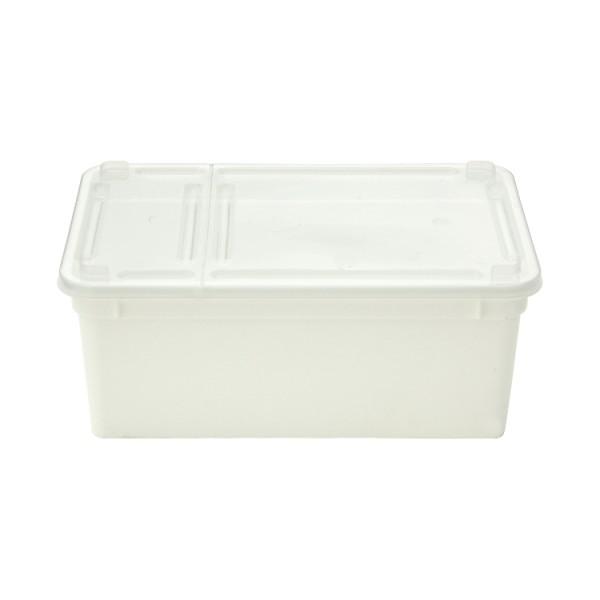 BraPlast Dose weiß 19x12x7,5 cm (1,3 l)