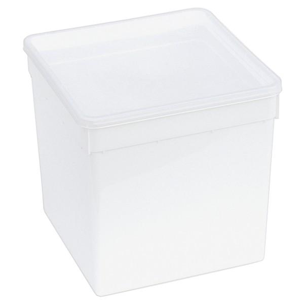 BraPlast Dose weiß 19x19x19 cm (5,8 l)