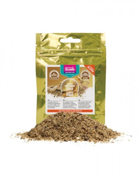 Arcadia Earthpro Jellypot Fruityinsect Gold - 50 % Früchte / 50 % Insekten