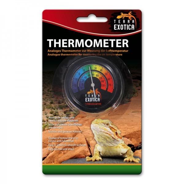 Terra Exotica Thermometer (analog) - farbige Skala
