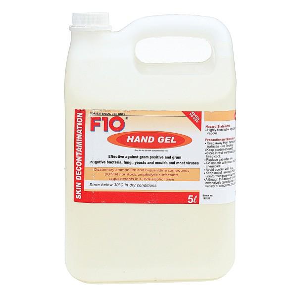 F10 Desinfektionsmittel als Handgel