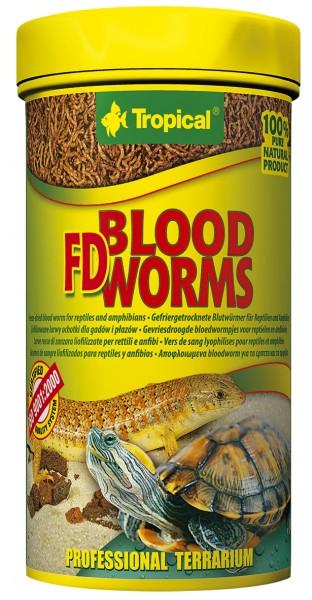 Tropical FD Blood Worms (getrocknete Blutwürmer)