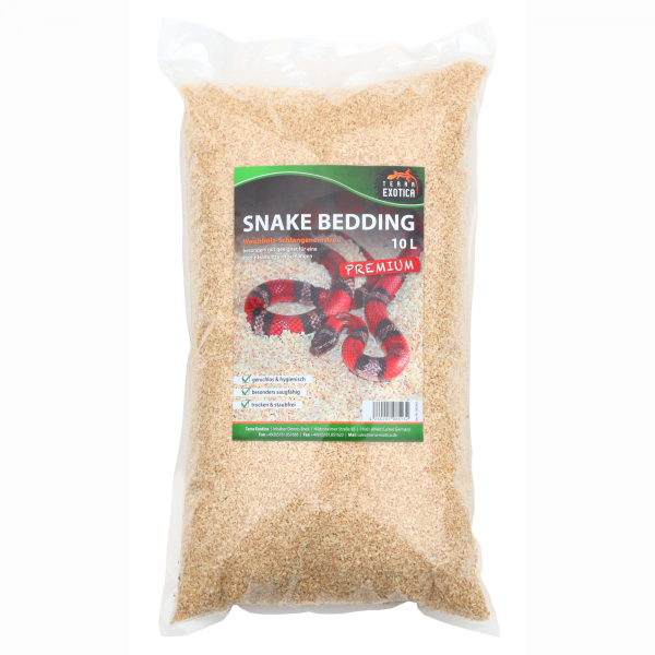 Terra Exotica Snake Bedding Premium