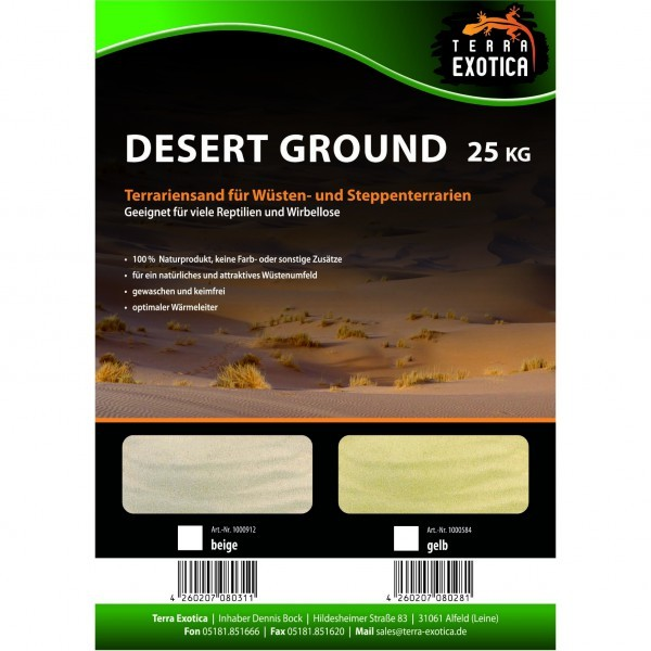 Terra Exotica Desert Ground - Terrariensand
