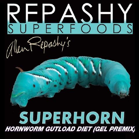 Repashy Superhorn für Manduca sexta Larven